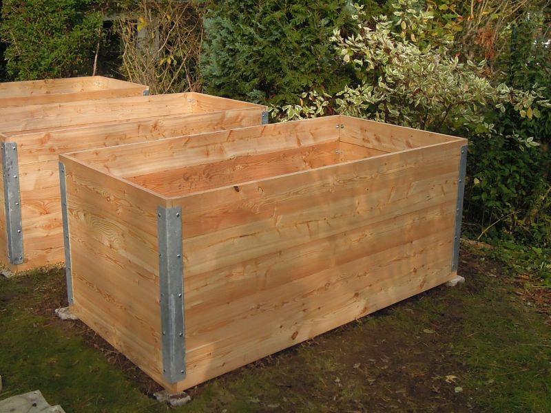 Hochbeet Larche 100x200 84cm Hohe Hochbeet Hochbeet Aus Holz