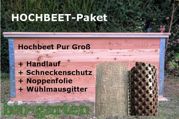 hochbeet mit komplettem zubeh r aktion f r ihren bio garten. Black Bedroom Furniture Sets. Home Design Ideas